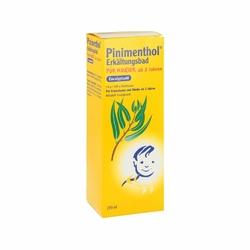 Pinimenthol płyn do kąpieli przeciw przeziębieniom dla dzieci