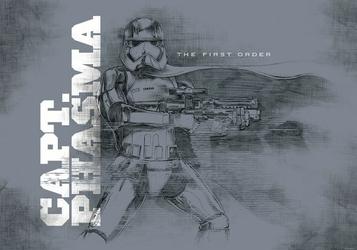 Star Wars 7 The Force Awakens - fototapeta