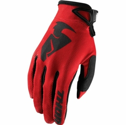 THOR RĘKAWICE SECTOR S8 OFFROAD GLOVES RED