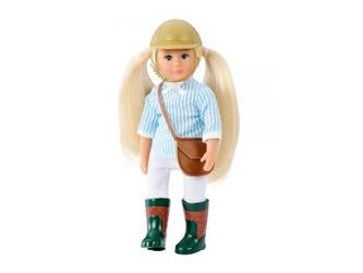 AVELINE lalka dżokejka blondynka 15 cm