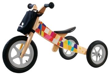 Sun Baby Twist Mosaic Rowerek biegowy drewniany 2w1 + Prezent 3D
