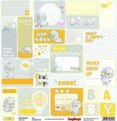 Papier Sweet dreams 30,5x30,5 cm Tags - 09