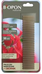 Biopon, pałeczki nawozowe z obornikiem, 30 sztuk