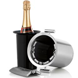 Stalowy schładzacz z uchwytami do wina Blomus Lounge B66732