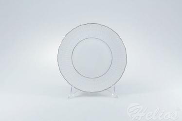 Talerz deserowy 21 cm - 3607 Sofia  Platynowa