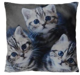 INTERIOR SPACE :: Poduszka Cats 45 x 45 cm - wzór 3 - wzór 3
