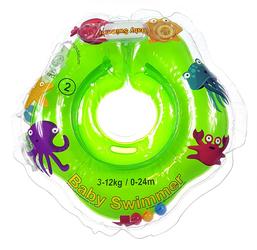 Dmuchany kołnierz Baby Swimmer 3-12 kg, zielony