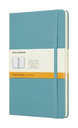 Notes Moleskine L w linie reef blue