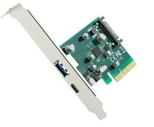 Gembird Karta PCI-Express 2xUSB 3.1