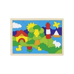 Drewniane puzzle LATARNIA mozaika