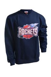 Bluza Mitchell  Ness NBA Houston Rockets Team Logo Crewneck