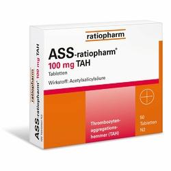 ASS Ratiopharm 100 mg TAH tabletki na serce