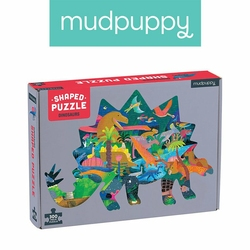 Mudpuppy Puzzle kształty Dinozaury 300 elementów 7+