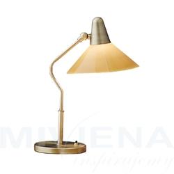 Martello lampa stołowa miedź champagne