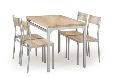 Stół kuchenny Artis + 4 krzesła dąb sonoma