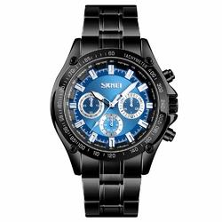 Zegarek męski SKMEI 1366 BRANSOLETA blackblue - blackblue