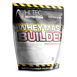 HI-TEC Whey Mass Builder - 1500g - Strawberry