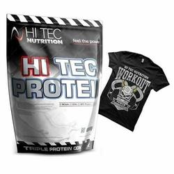 Hitec Protein 2250 g + Tshirt Gratis - Chocolate  XXL
