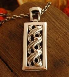 COPACABANA - srebrny wisiorek piękne srebro