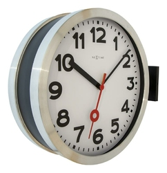Zegar ścienny Station Double