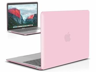 Etui Alogy Hard Case crystal do Apple MacBook Air 2018 13 różowe - Różowy