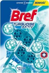 Bref, Blue Aktive,Turquoise Ocean, zawieszka do toalet, duopack, 2x50g
