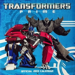 Transformers Prime - kalendarz 2013