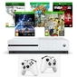 Konsola Xbox One S 1TB + 2 Pady + 5 GIER