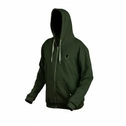 Bluza z kapturem Prologic Bank Bound Zip Hoodie Green roz. XL