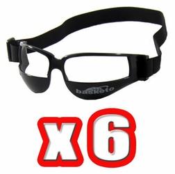 Okulary dryblerki do nauki kozłowania koszykówki - Zestaw 6 par
