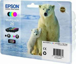 Epson Multipack T2616 PHOTO CMYK do XP-600700800