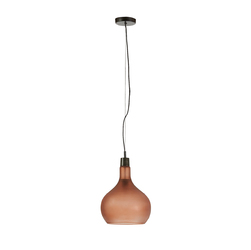 Lampa wisząca QUARTO brązowa - brązowy