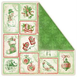 Papier Christmas in AVONLEA 30,5x30,5 cm PRESENTS - presents