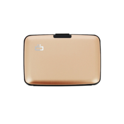 Portfel Aluminiowy Ogon Designs Stockholm Rose Gold RFID protect - ROSE GOLD