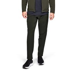 Spodnie dresowe męskie ua stormcyclone pant - zielony