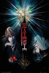 Death note duo - plakat