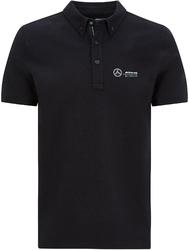 Koszulka polo mercedes amg petronas f1 czarna
