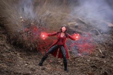 Scarlet witch - plakat wymiar do wyboru: 50x40 cm
