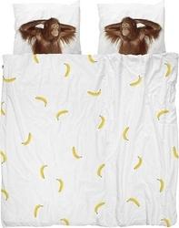Pościel banana monkey podwójna 200 x 200 cm