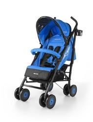 Milly mally meteor niebieski wózek spacerowy + folia + puzzle