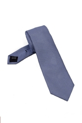 Elegancki błękitny krawat z grenadyny van thorn