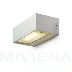 Advantage iii aluminium 230v350ma led 3x1w 3000k