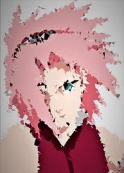 Polyamory - sakura, naruto - plakat wymiar do wyboru: 70x100 cm