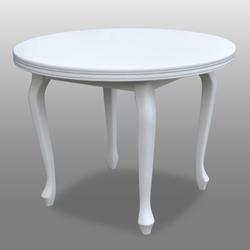 Okrągły rozkładany stół odeta  100-140 cm