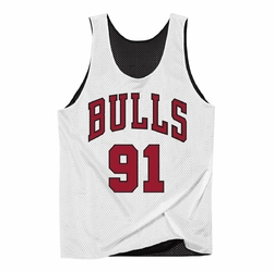 Koszulka Mitchell  Ness NBA Reversible Mesh Tank Chicago Bulls Dennis Rodman - NNRMDA18007-CBUBKWH1DRD96 - Dennis Rodman