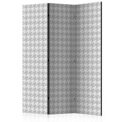 Parawan 3-częściowy - pepitka room dividers