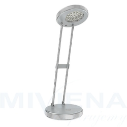 Call stołowa z zasilaczem + usb srebrnoszara  230v