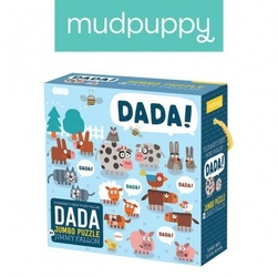 Mudpuppy puzzle podłogowe jumbo tata 25 elementów 2+