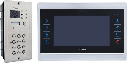 Wideodomofon vidos m901s601d - szybka dostawa lub możliwość odbioru w 39 miastach
