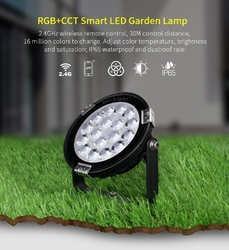 Naświetlacz  halogen led milight - 9w rgb+cct led garden light - futc01